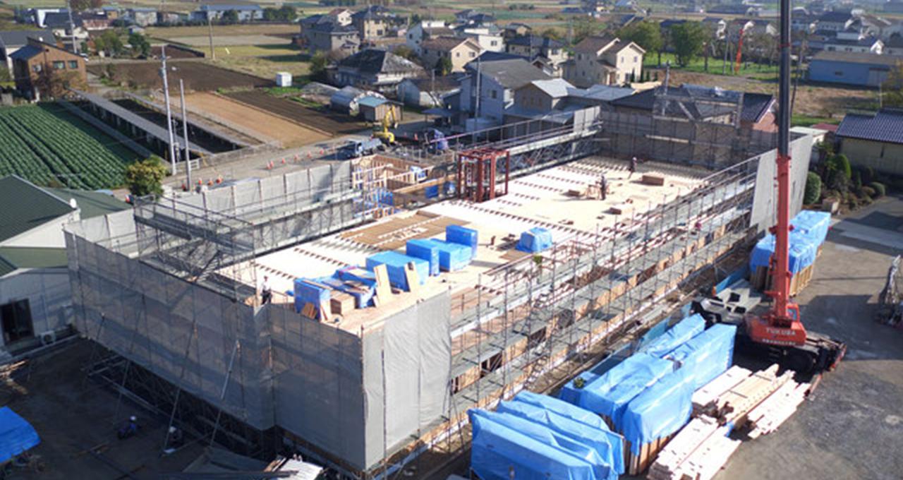建設分野におけるドローンの活用 サムネイル画像