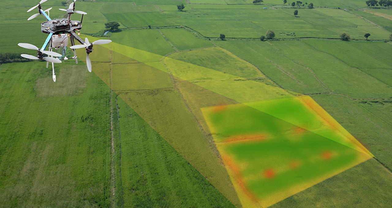 地形調査におけるドローンの活用 サムネイル画像
